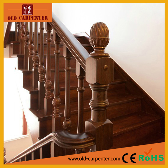 Superbe Practical Design Solid Wood Stair Accessories Tread U0026amp; ...