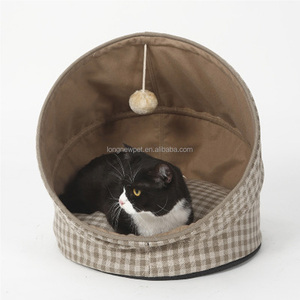 New Design Amazon Popular Cat Bed Cute Lovely Bed For Cat Folding Easy Washer Pet Bed