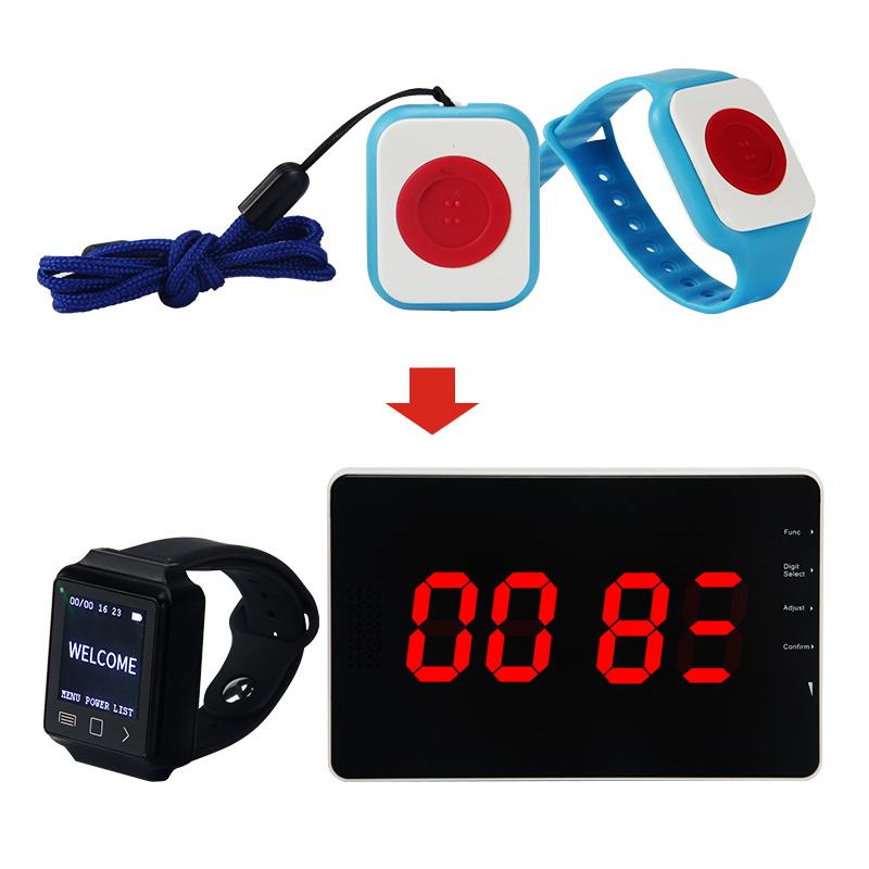 Remote SOS Elderly Alarm Wireless Panic Button