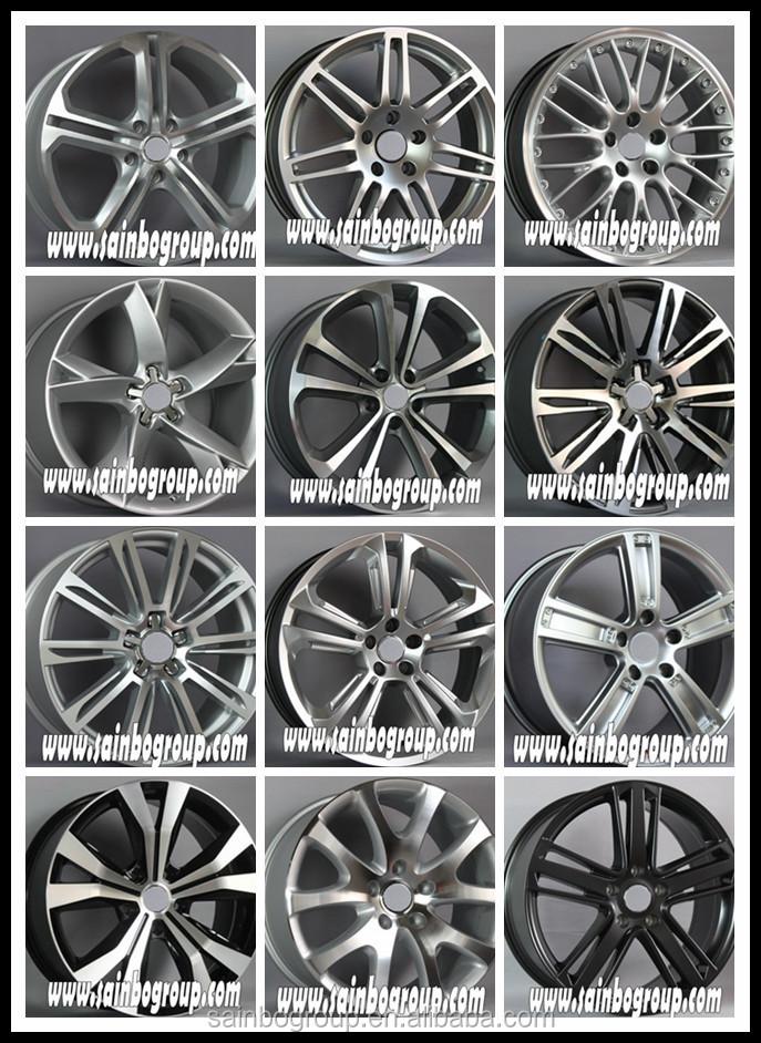 New Design Mag Black Car Alloy Wheels,Aluminum Car Mag Wheel Rim ...