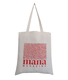 Recycled Custom fabric organic cotton tote bag with handle for trade fair