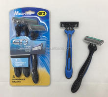 Triple Blade Disposable Razor