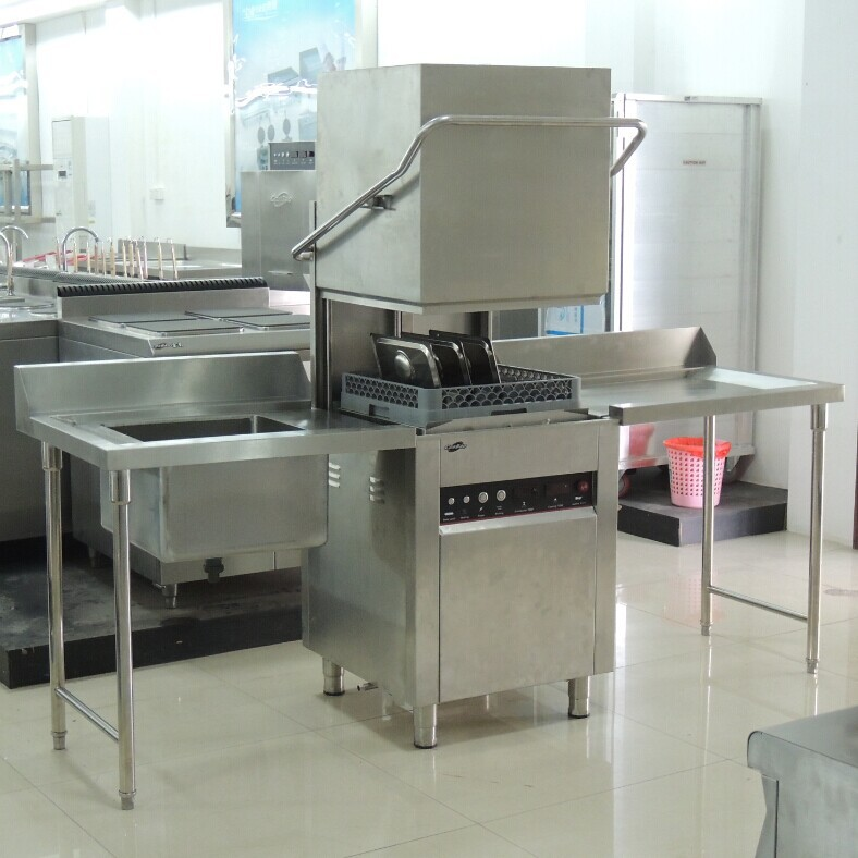 Stainless Steel Dish Washing Work Sink Table For