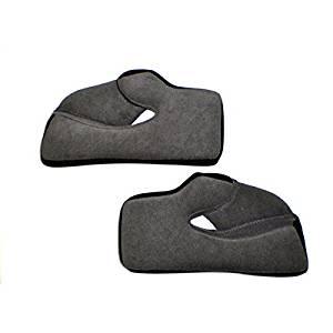 AGV Helmet Cheek Pads for AX-8 Dual Sport EVO - Black - 2XL KIT76005999