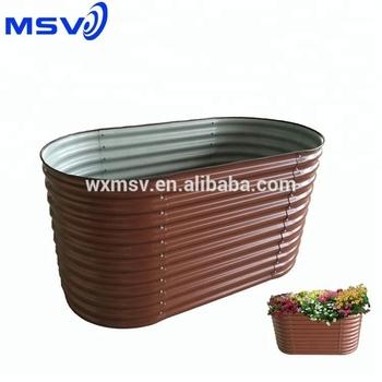 Diy Steel Flower Pot Raised Garden Beds 2017 Hot Sale Buy Flower Pot Raised Garden Beds Steel Pot Product On Alibaba Com
