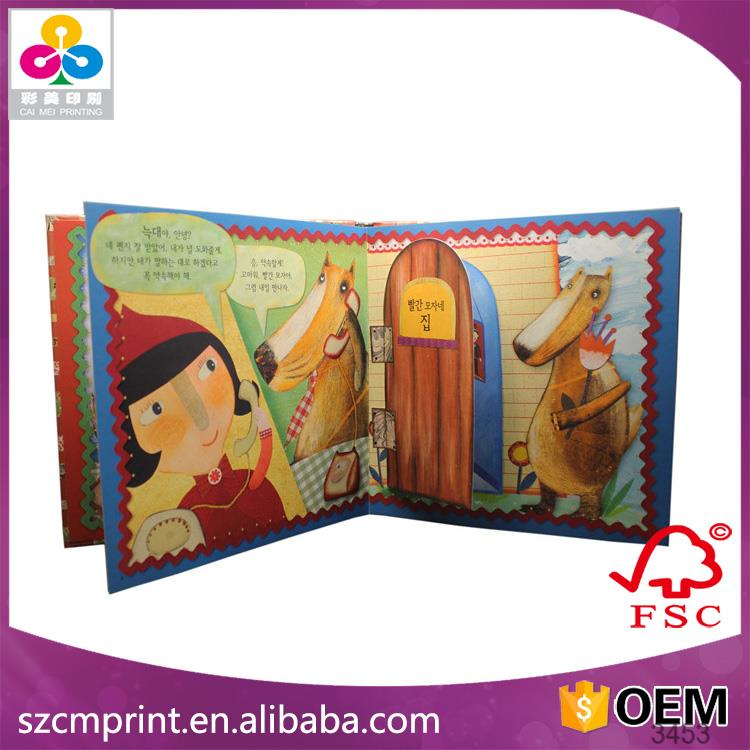 custom mini hardcover child photo book made in China