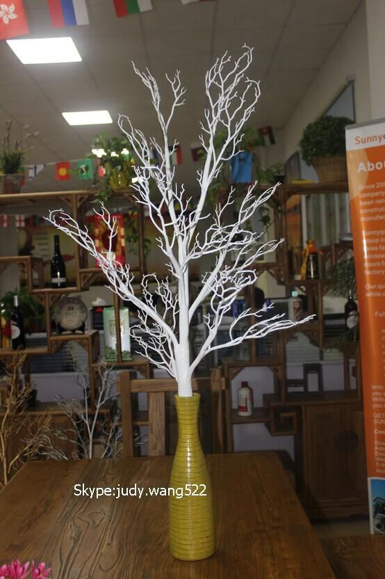 haute quanlity blanc branche d 39 arbre pour la d coration de no l artificielle blanc arbre. Black Bedroom Furniture Sets. Home Design Ideas