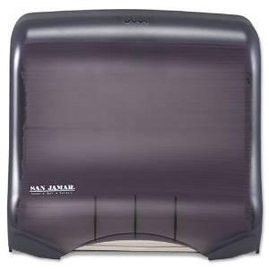 San Jamar Classic Mini C-Fold & Multifold Towel Dispenser, 11-1/2x6x11-1/2, Black Pearl - Includes one each.