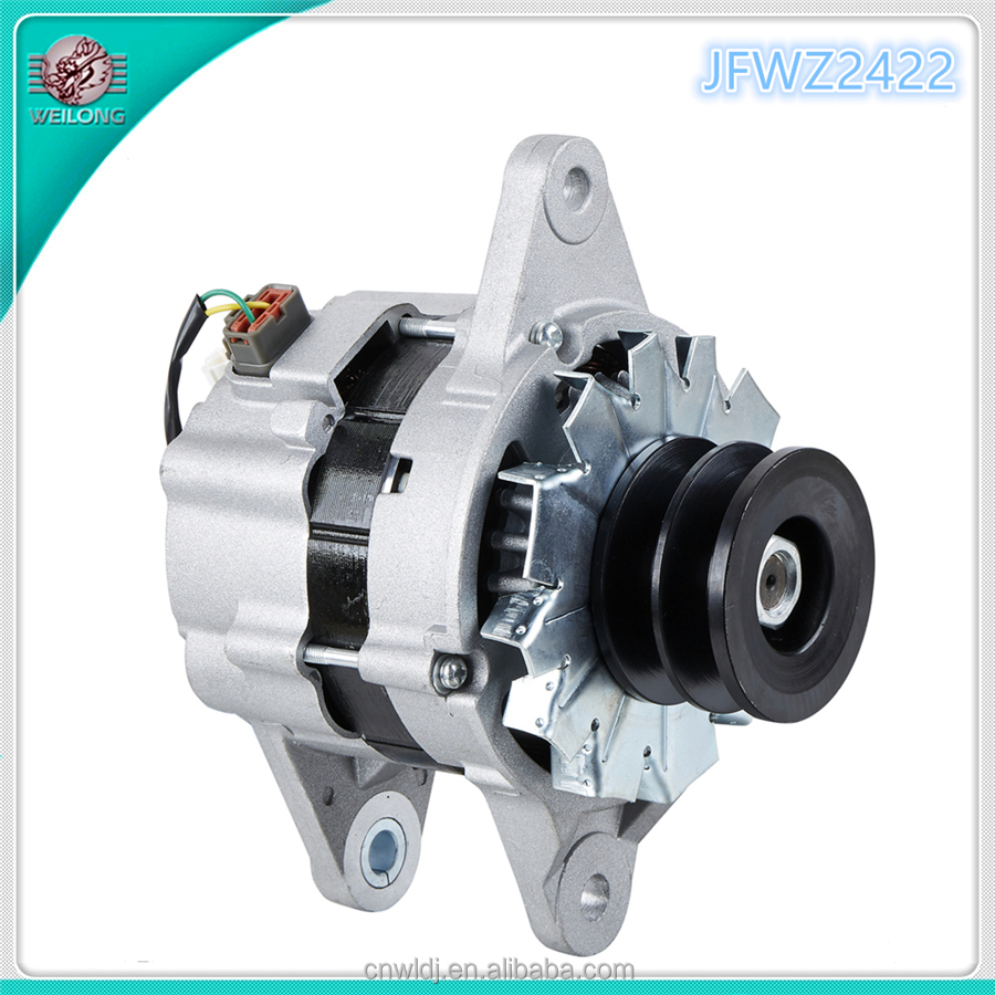 Hitachi ZAX200 Alternator, John Deere alternator, New Holland alternator, 24V 60A OE:1812005303, JFWZ2422