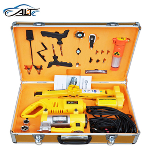 Car Emergency Tools of Electric Jack and Wrench Set