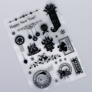 Christmas decoration Cutting Dies Clear Stamps For DIY Scrapbooking Card Making Album Decorative rubber Stamp Craft