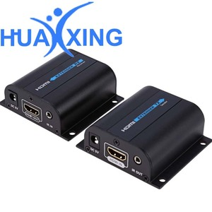 Many transmitter to Many Receivers 120m HDMI to lan hdmi kvm extender over ip extender