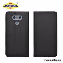 Magnetic wallet leather case for LG G6