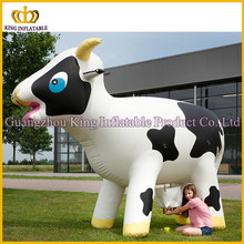 PVC/Oxford custom inflatable cow animal,3mH giant inflatable cow