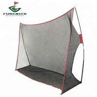 Indoor and Outdoor Golf Hitting Practice Net 10 x 7 x 3 ft Portable Golf Training Chipping Net
