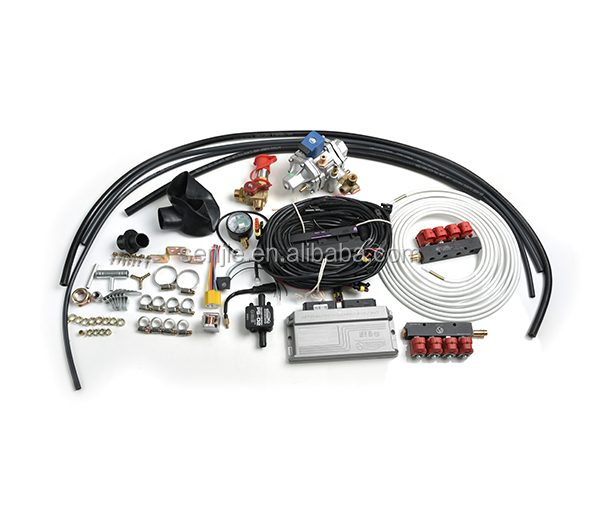 SENJIE lpg cng car conversion kit / AT12 reducer mp48 ecu