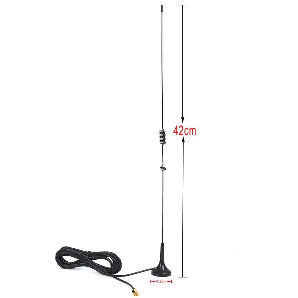 2017 New Product Dual Band Two Way Radio <strong>Antenna</strong> UHF/VHF Magnetic Vehicle-mounted 29.5cm <strong>Antenna</strong> with 3m Cable