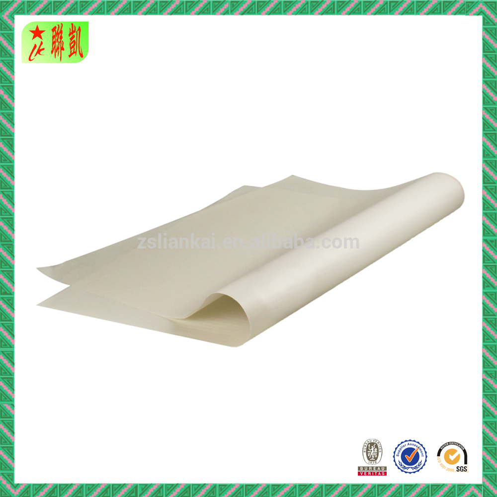 White wrapping paper packaging paper with brand logo trade mark