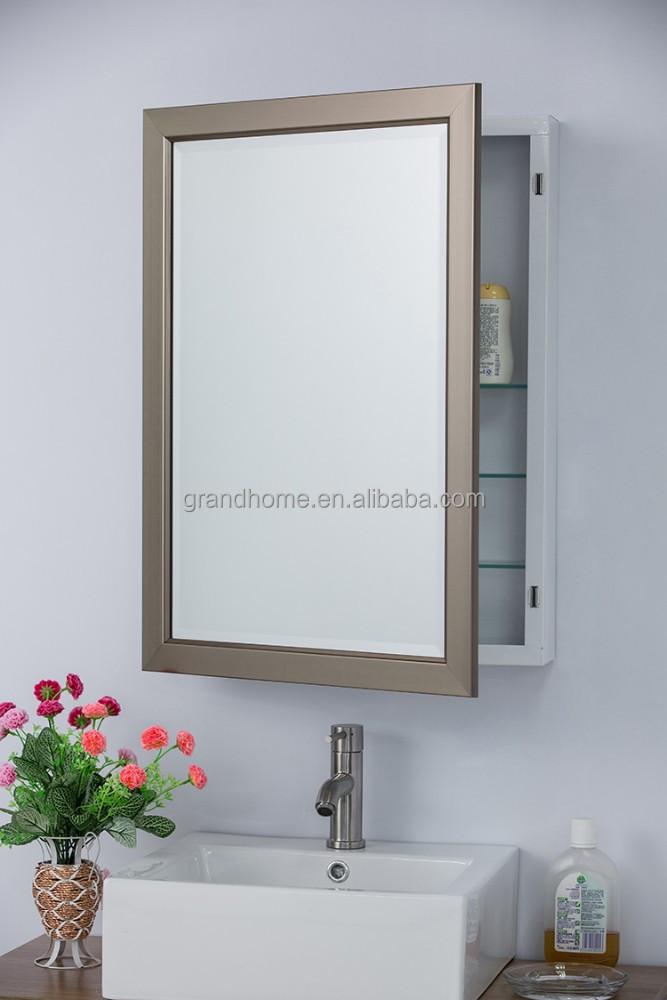 2017 meubelen romantische spiegel moderne badkamermeubel-badkamer, Deco ideeën