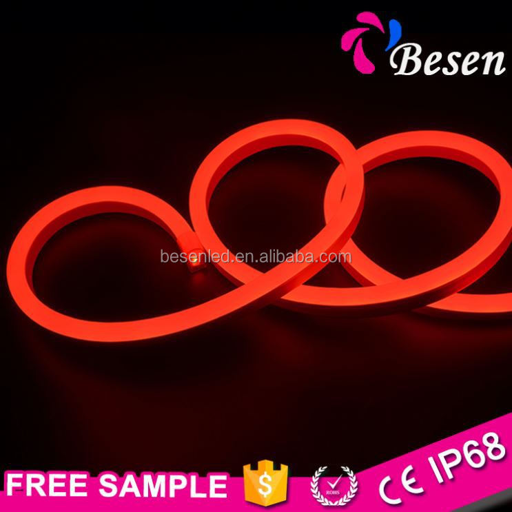 Besen The Decorative Automotive Customized Outdoor 12 Volt Small Ultr-Thin Solar Rope Battery Powered Led Neon Lights