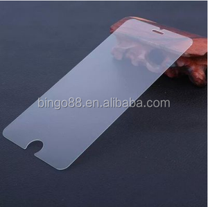 Top wholesale 0.3mm 2.5D 9H protective film 0.4mm tempered glass screen protector for iPhone6 7 8 plus X