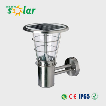 Jr-2602 Stainless Steel Solar Garden Light Gardeners Eden Solar ...