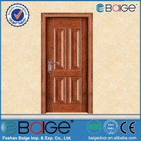BG-SW602G american pre hung door/made in china security doors/steel wooden interior door