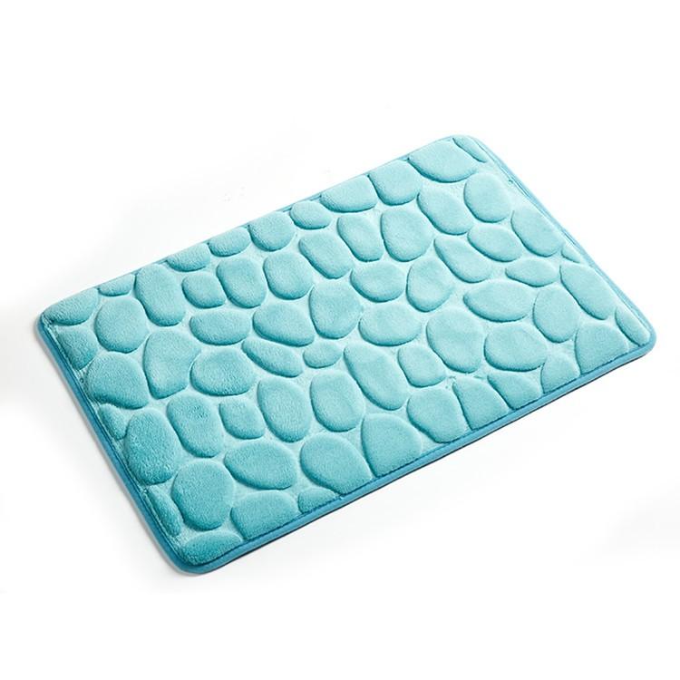 modern design microfiber bathroom mat set