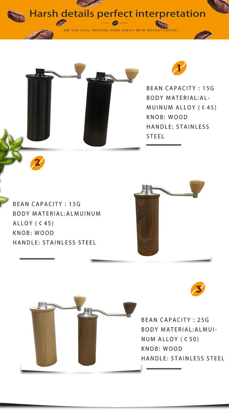 Stainless steel line surface coffee grinder for sale