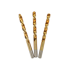 Made In China factory manufactures Hss full ground Tin- coated twist drill bits
