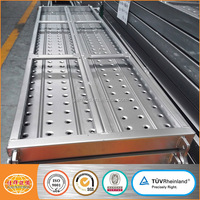 Scaffolding Steel Catwalk for Construction Steel Plank Scaffolding Walk Board