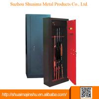 China new design popular mechanical in wall gun safe hidden