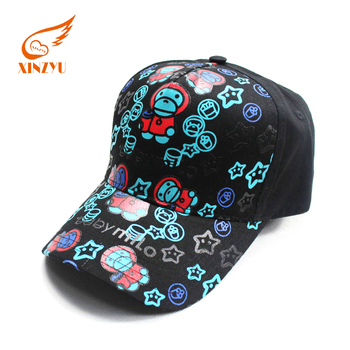 85c6f602f7713 Design your own custom Promotional 6 Panel Logo 3D Embroidery black  baseball hat caps