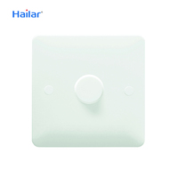 Hailar dimmer switch white 250W 1 gang smart dimmer light switch