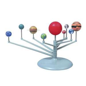 DIY Colored Planets Educational Toys Planetarium Model Science Kits Toy