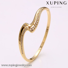 50936 Wholesale European fashion 14k gold filled wrist bangle bracelet