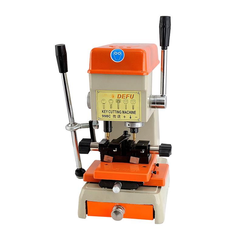 DEFU 998C Key Cutting Machine 220V/110V Key Duplicating Machine For Making Keys Locksmith tools