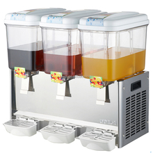 Triple drinks dispenser with stand 18L commercial juice beverage machine