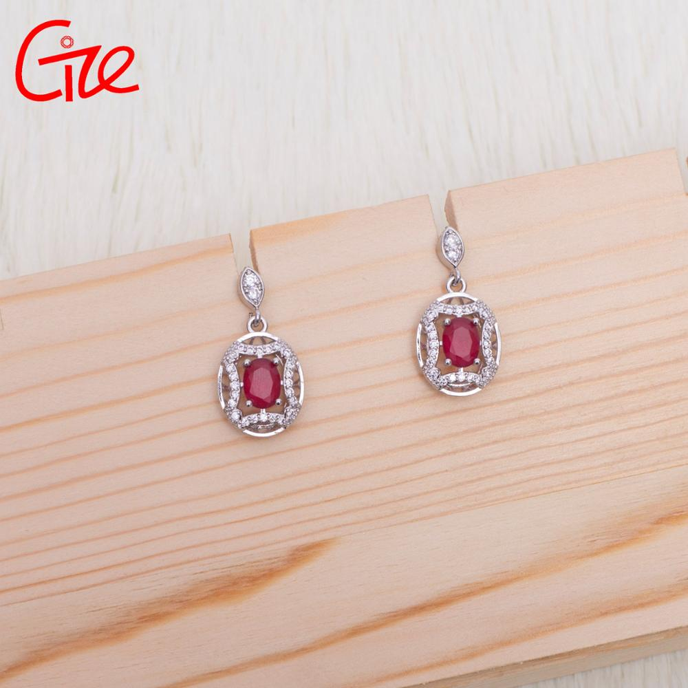 Fashion Modeling high-end vintage diamond Colorful Bijoux Jewelry women Piercing stud bridal earrings