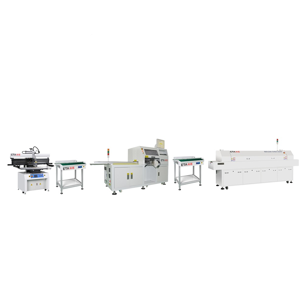 Turnkey SMT Montage Line Factory Setup for Making PCB Telecommunication Equipment Cards