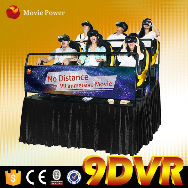 2015 Global Newest Immersive 12 special effects motion mini 5d motion cinema in