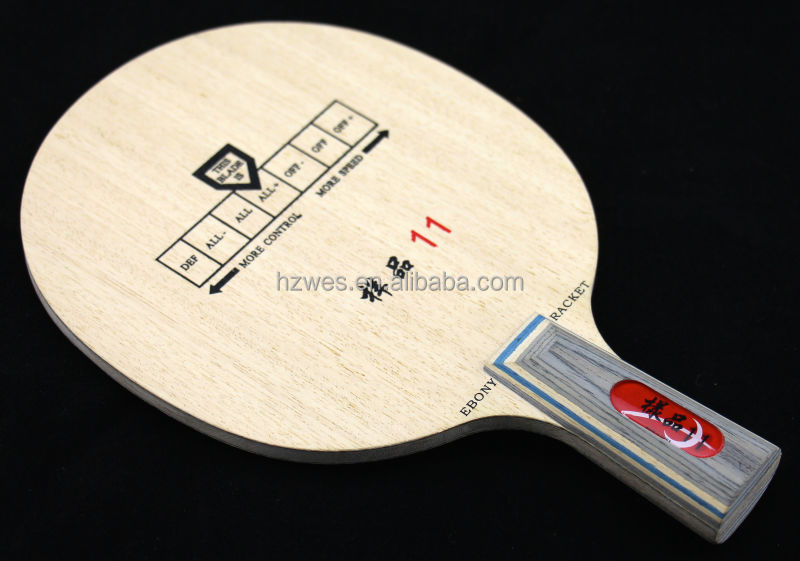 NO.11 professional table tennis carbon blade equivalent to 30041 KOTO mixed Carbon Aramid Fiber Ayous Candlenut