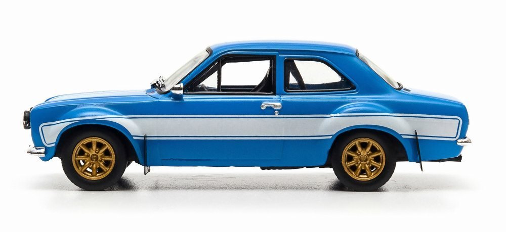 1974 Brian's Ford Escort RS2000 MKI, Blue - Greenlight Fast & Furious 86222 - 1/43 Scale Diecast Model Toy Car