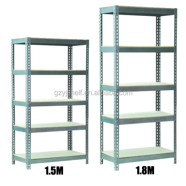 Slotted Angle Shelving System Steel Storage Adjustable