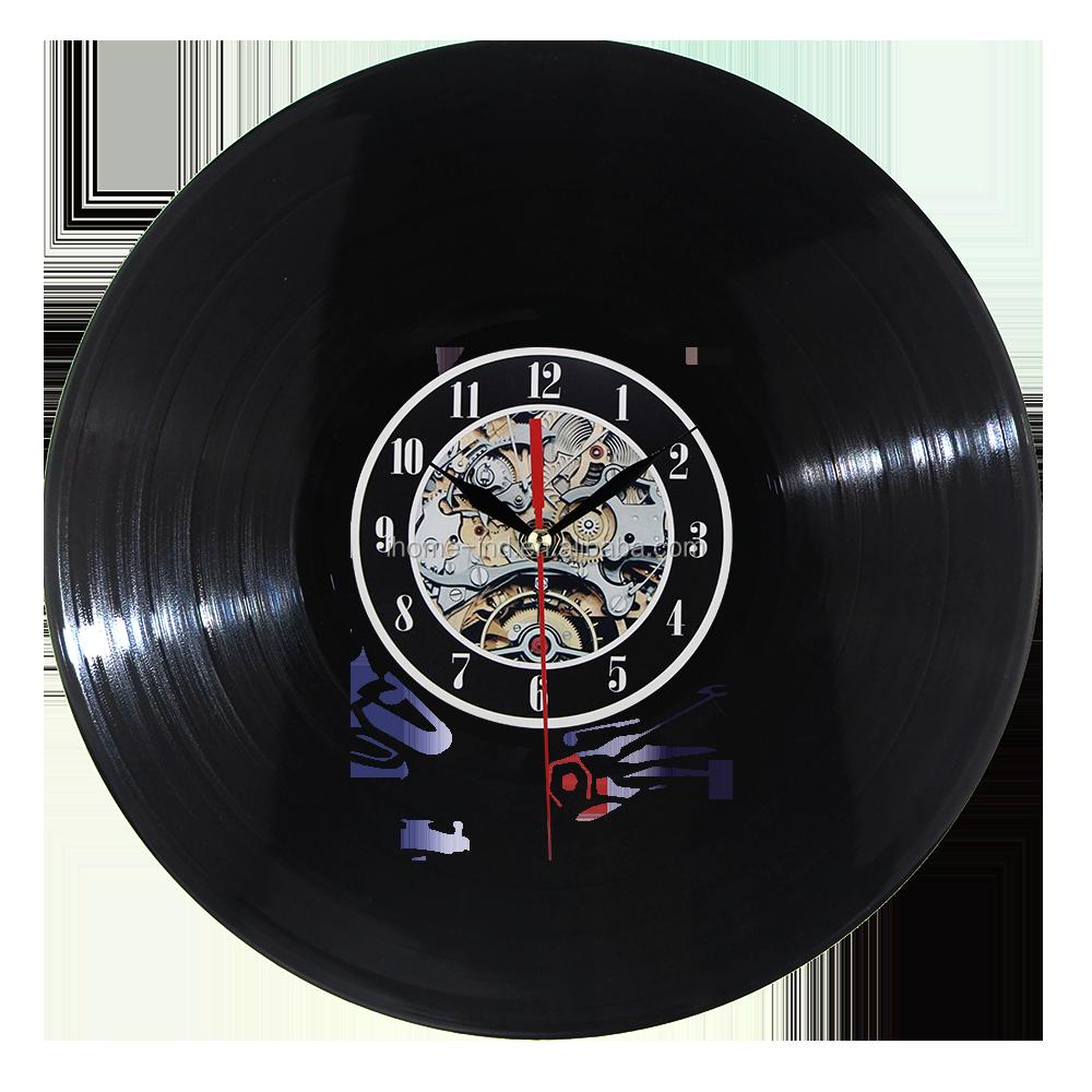 Diseño Moderno Arte Decorativo Disco De Viniloreloj De Pared Led De Luz Con Control Remoto Buy Reloj De Disco De Viniloluz Ledreloj De Pared