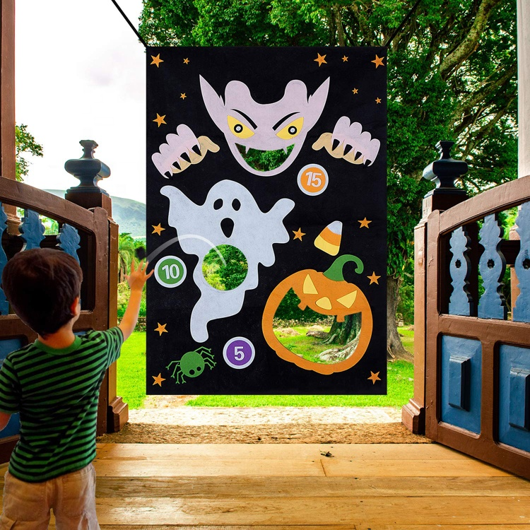 Amazon top seller 2019 kids play bean bag toss games halloween decoration party favors for adults