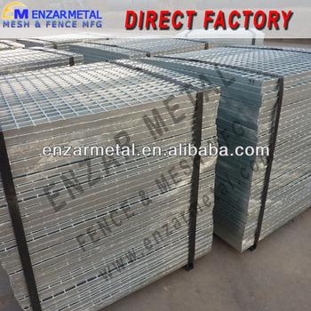 galvanized mezzanine floor grating panel bar grate mezzanine floor