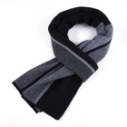 Factory new design 100% wool warmth shawl neck scarf long scarf