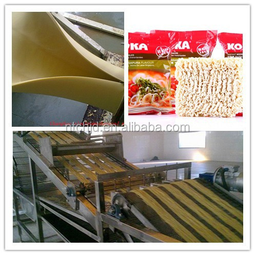 Non-Fried instant noodle making production line/used noodle machine