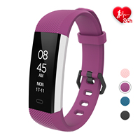 Fitpolo heart rate monitor body smart fit watch activity fitness tracker for android and ios phone